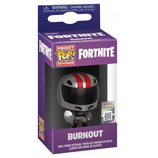 Брелок Funko Pocket POP!: Fortnite: Burnout (Герой асфальта)