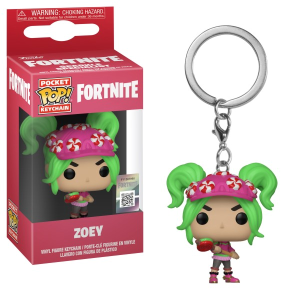 Брелок Funko Pocket POP!: Fortnite: Zoey (Марципанка)