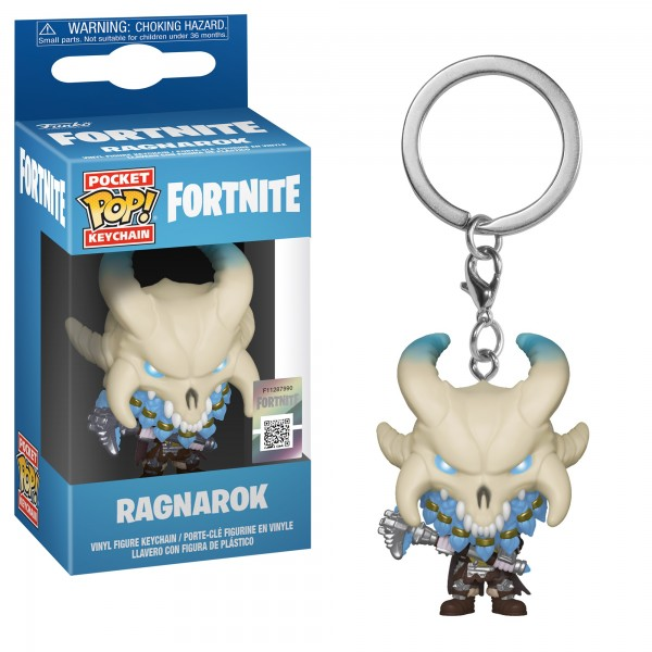 Брелок Funko Pocket POP!: Fortnite: Ragnarok (Рагнарёк)