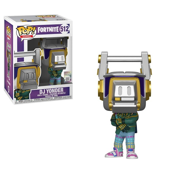 Фигурка Funko POP! Vinyl: Games: Fortnite S3: DJ Yonder