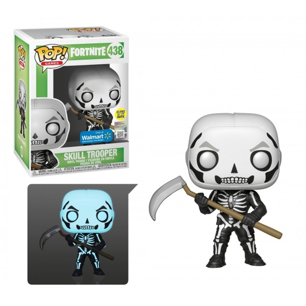 Фигурка Funko POP! Vinyl: Games: Fortnite S3: Skull Trooper (GW) (Exc)