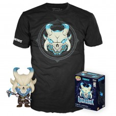 Набор Фигурка + Футболка Funko POP and Tee: Fortnite: Ragnarok (2XL) 43129