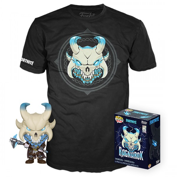 Набор Фигурка + Футболка Funko POP and Tee: Fortnite: Ragnarok (XL) 43128