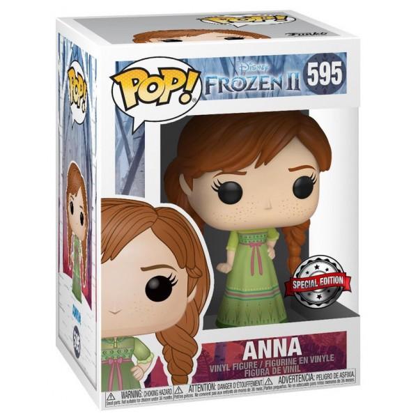 Фигурка Funko POP! Vinyl: Disney: Frozen 2: Anna (Nightgown) (Эксклюзив)