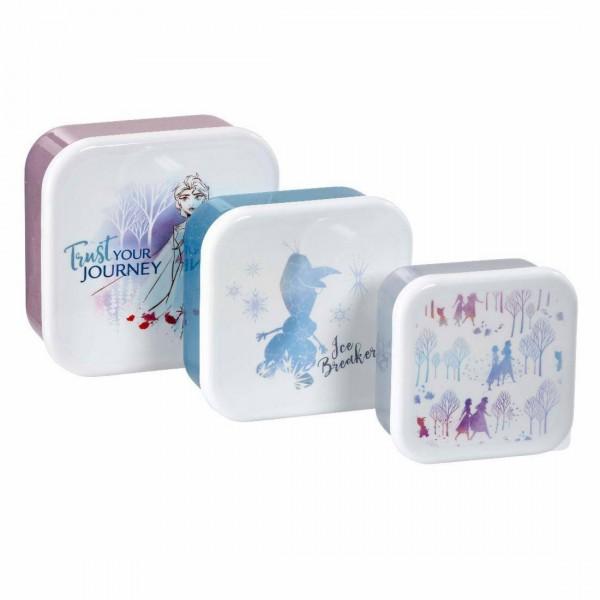 Контейнер для хранения продуктов Funko Frozen 2: Fearless: Storage Set: Trust Your Journey