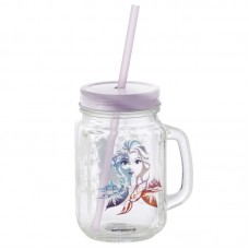Кружка стеклянная Funko Frozen 2: Fearless: Mason Jar: Fearless