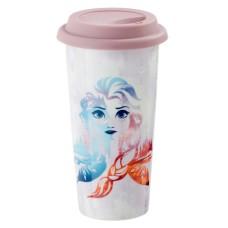 Кружка керамическая Funko Frozen 2: Fearless: Lidded Mug: Fearless