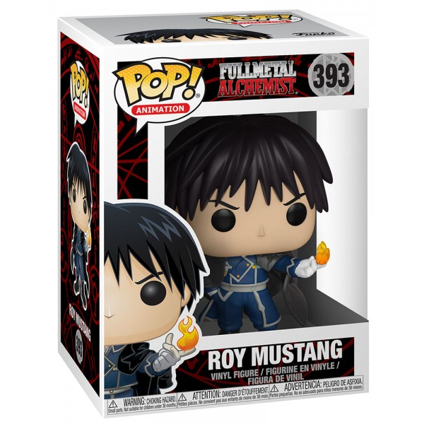 Фигурка Funko POP! Vinyl: Full Metal Alchemist: Roy Mustang