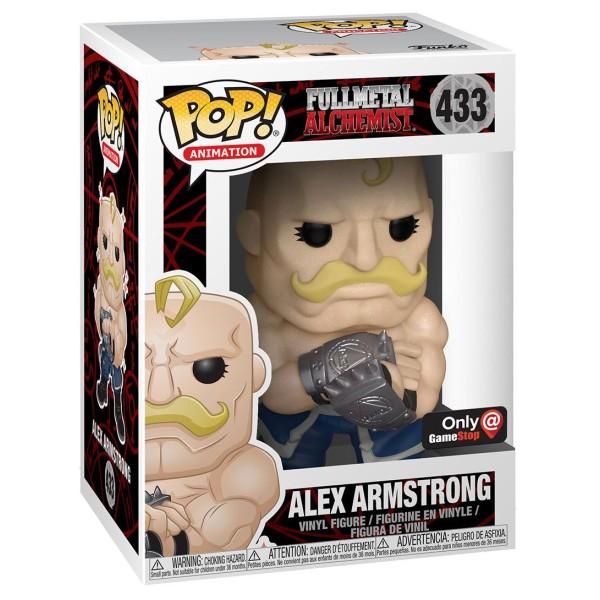 Фигурка Funko POP! Vinyl: Full Metal Alchemist: Alex Armstrong (Эксклюзив)