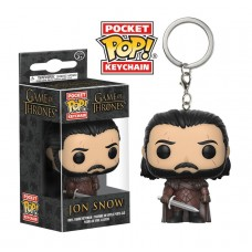 Брелок Funko Pocket POP! Keychain: Game of Thrones: S7 Jon Snow