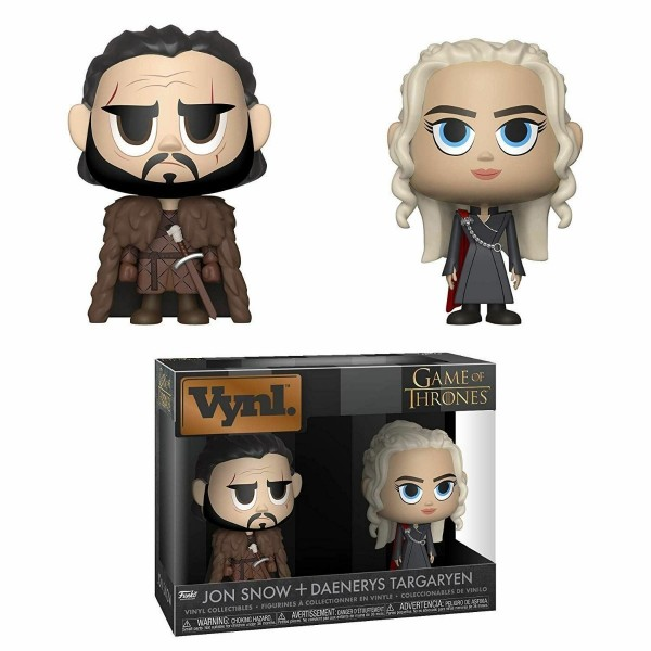 Фигурка Funko VYNL: Game of Thrones: 2PK Jon & Daenerys