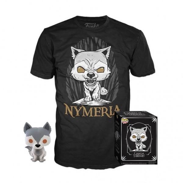 Набор Фигурка + Футболка Funko POP and Tee: Game of Thrones: Nymeria (M) 38640