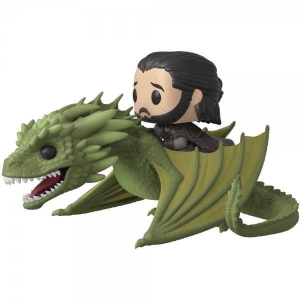 Фигурка Funko POP! Rides: Game of Thrones : Jon Snow w/Rhaegal