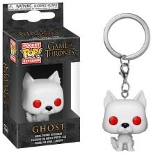 Брелок Funko Pocket POP! Game of Thrones: Ghost (FL) (Эксклюзив)