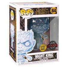 Фигурка Funko POP! Vinyl: Game of Thrones: Crystal Night King w/Dagger in Chest (Эксклюзив)