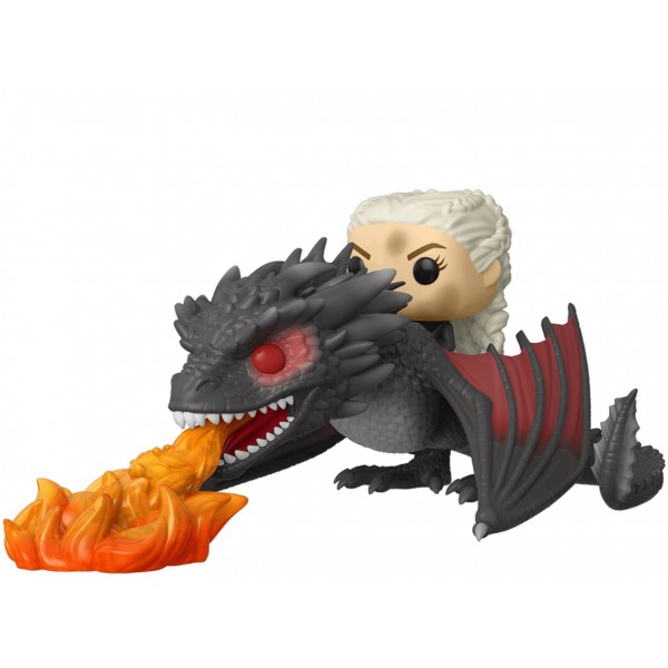 Фигурка Funko POP! Rides: Game of Thrones: Daenerys on Fiery Drogon