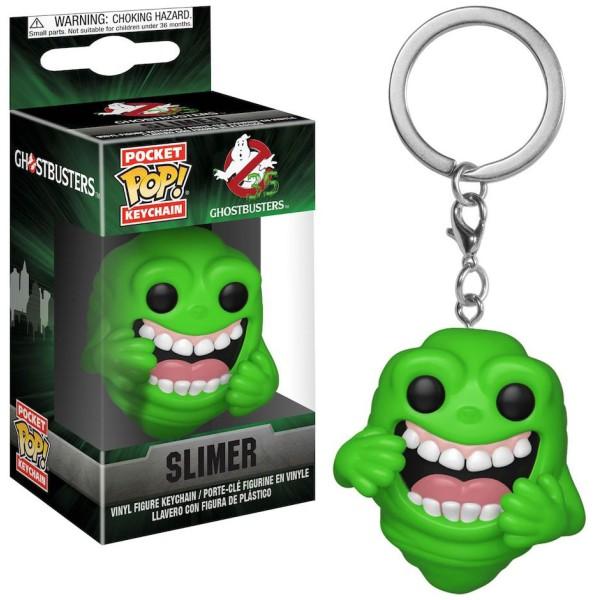 Брелок Funko Pocket POP! Keychain: Ghostbusters: Slimer