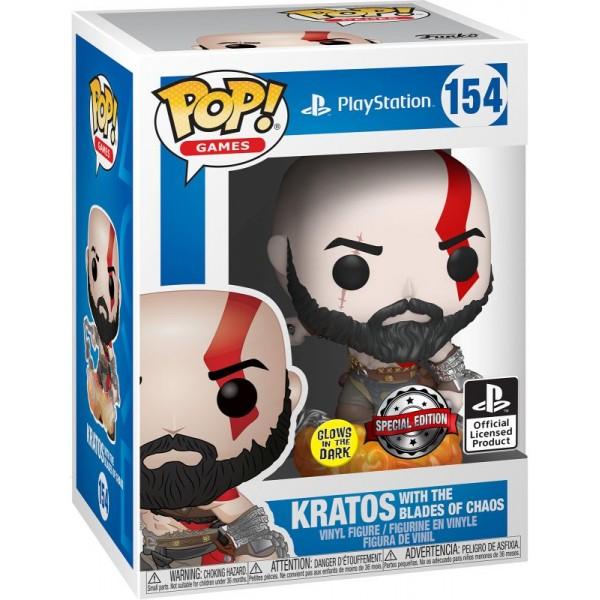 Фигурка Funko POP! Games: God Of War: Kratos with Blades of Chaos (GW) (Exc)