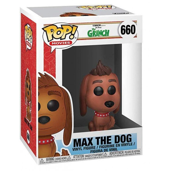 Фигурка Funko POP! Vinyl: The Grinch Movie: пёс Макс