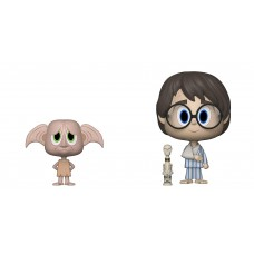 Фигурки Funko VYNL: Harry Potter S6: 2PK Dobby & Harry
