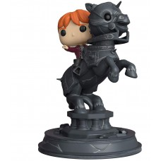 Фигурка Funko POP! Movie Moment Harry Potter: Ron Weasley Riding Chess Piece