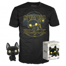Набор Фигурка + Футболка Funko POP and Tee: Harry Potter: Sirus Black (XL) 38974