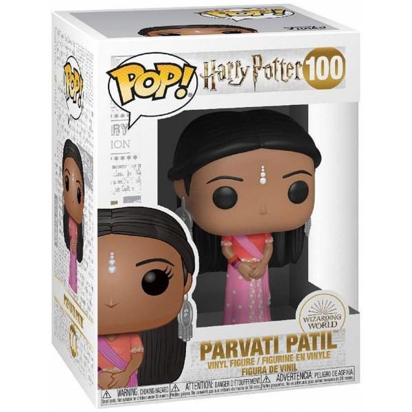 Фигурка Funko POP! Vinyl: Harry Potter S8: Parvati Patil (Yule Ball)