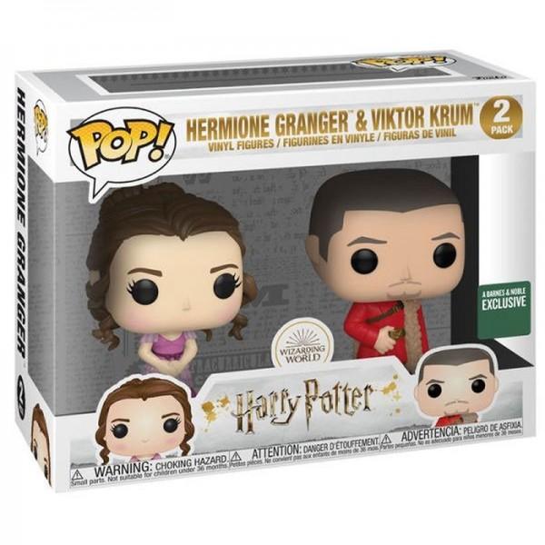 Фигурка Funko POP! Vinyl: Harry Potter S8: 2PK Hermione & Krum (Yule) (Эксклюзив)