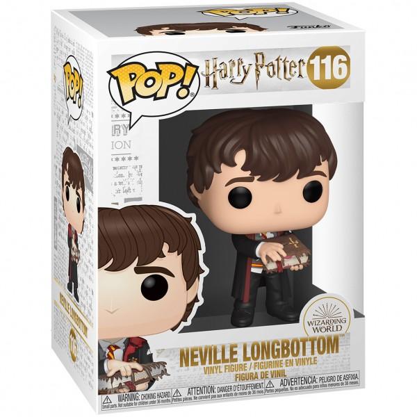 Фигурка Funko POP!: Harry Potter: Neville Longbottom with Monster Book