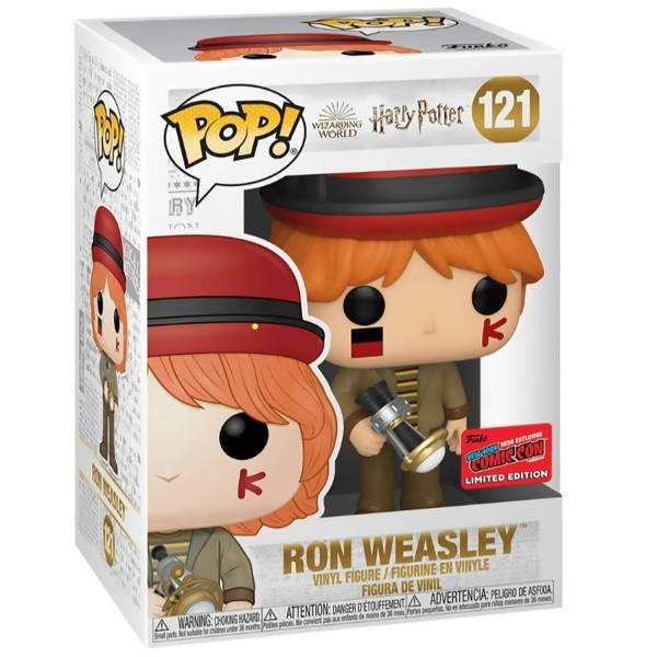 Фигурка Funko POP! NYCC: Harry Potter: Ron Weasley At World Cup (Exc)