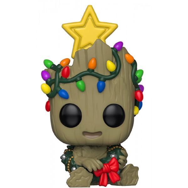 Фигурка Funko POP! Bobble: Marvel: Holiday: Groot