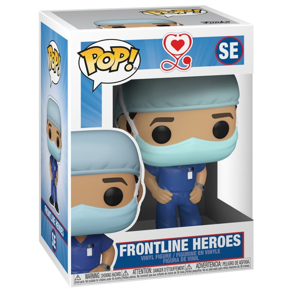 Фигурка Funko POP! Front Line Heroes: Male #1