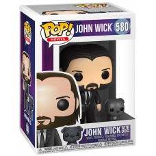 Фигурка Funko POP! Vinyl: John Wick with Dog (Black Suit)