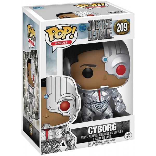 Фигурка Funko POP! Vinyl: DC: Justice League: Cyborg