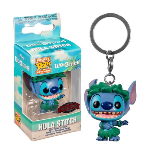 Брелок Funko Pocket POP Lilo & Stitch: Stitch In Hula Skirt (Exc)