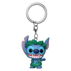Брелок Funko Pocket POP Lilo & Stitch: Stitch In Hula Skirt (Exc)