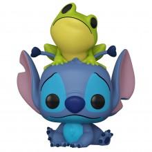 Фигурка Funko POP! Disney: Lilo & Stitch: Stitch with Frog (Exc)
