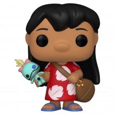 Фигурка Funko POP! Disney Lilo & Stitch: Lilo with Scrump