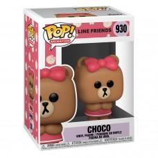 Фигурка Funko POP! Animation: Line Friends: Choco