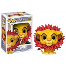 Фигурка Funko POP! Vinyl: Disney: Король Лев (Lion King): Simba (Leaf Mane)
