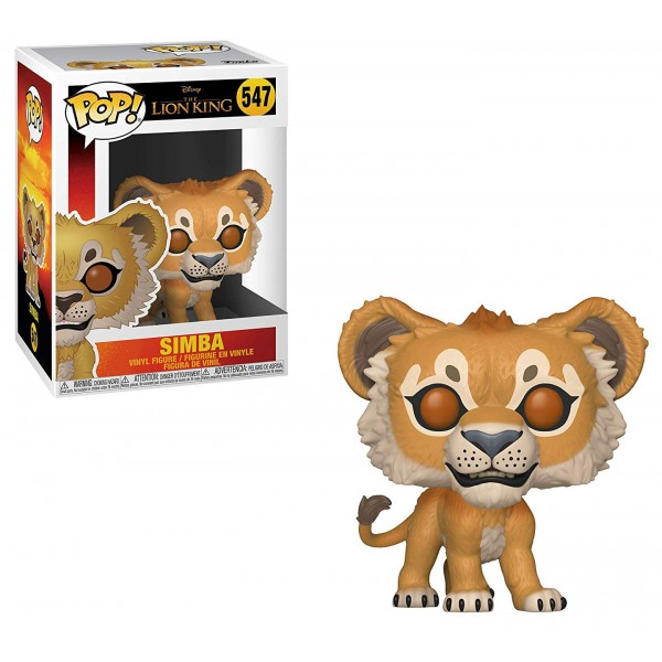 Фигурка Funko POP! Vinyl: Disney: The Lion King (Live Action): - Симба