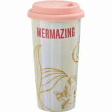 Кружка керамическая Funko Little Mermaid: Pearl Anniversary: Lidded Mug: Mermazing