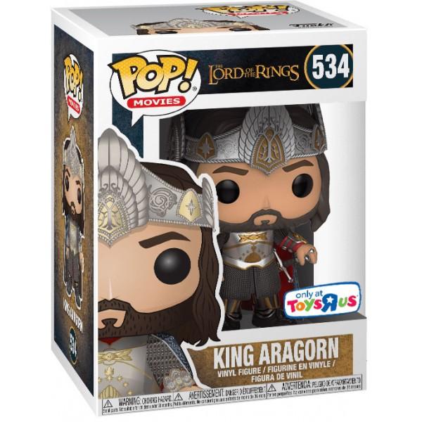 Фигурка Funko POP! Vinyl: LOTR/Hobbit: King Aragorn (Эксклюзив)