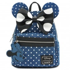 Рюкзак Loungefly: Disney: Minnie Mouse Denim Backpack