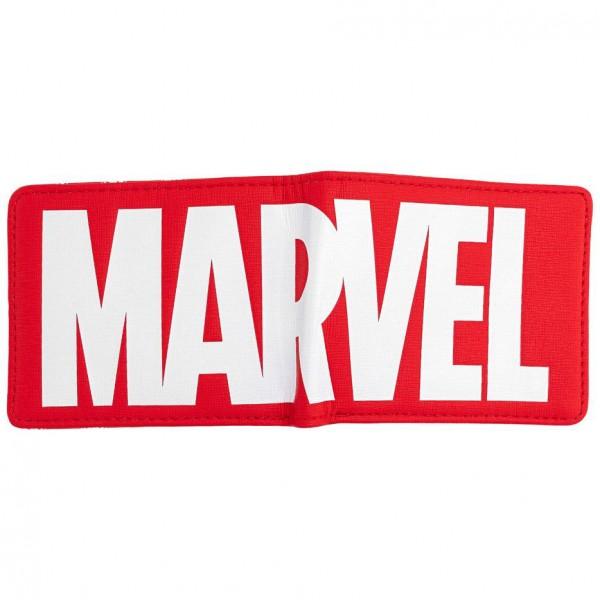 Кошелек Loungefly: Marvel: Logo Red Bi-Fold Wallet