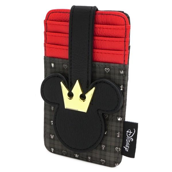 Кошелек Loungefly: Disney: Kingdom Hearts Mickey Card Holder