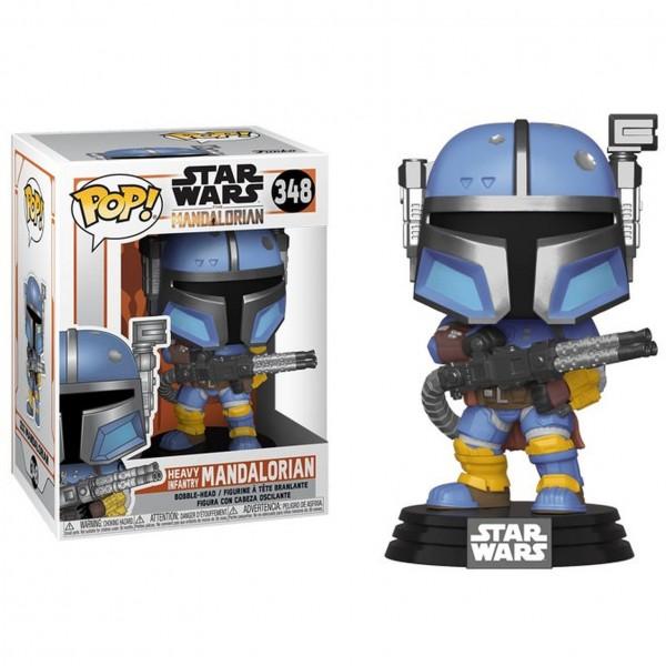 Фигурка Funko POP! Bobble: Star Wars: Mandalorian: Heavy Infantry Mandal