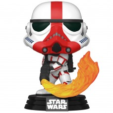 Фигурка Funko POP! Bobble: Star Wars: Mandalorian: Incinerator Stormtrooper