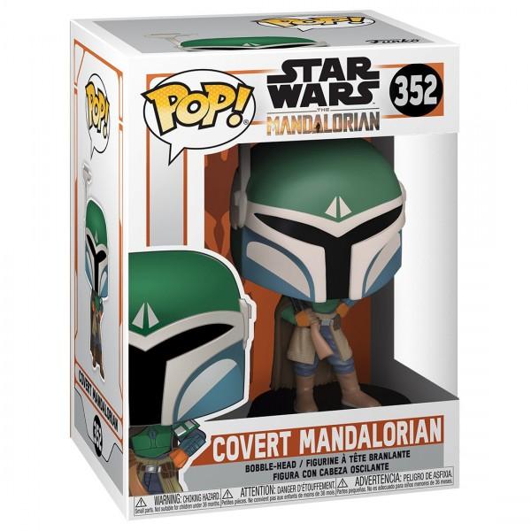 Фигурка Funko POP! Bobble: Star Wars: Covert Mandalorian