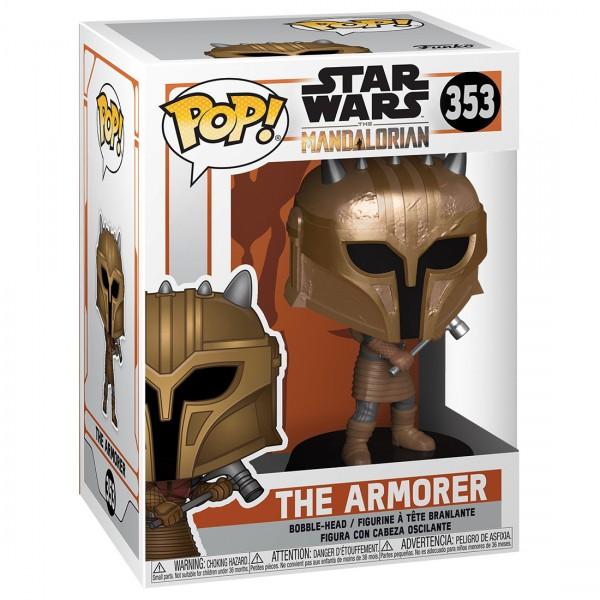 Фигурка Funko POP! Bobble: Star Wars: Mandalorian: The Armorer